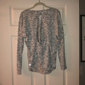 Lululemon Long-Sleeve Patterned Tee
